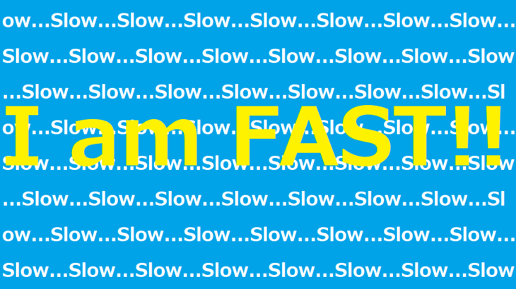 slow and fast